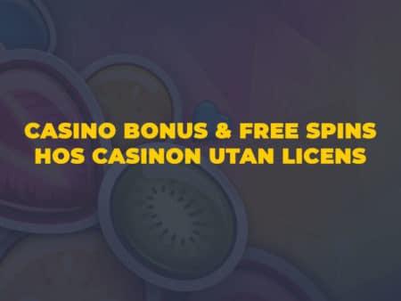Casino bonusar hos casinon utan licens