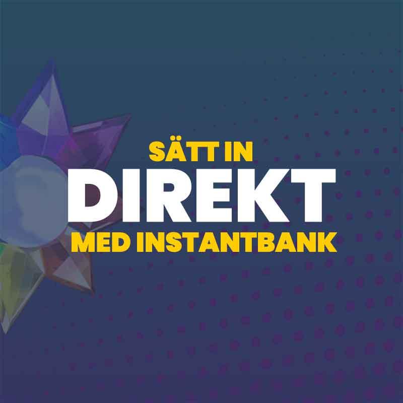 Vilka casinon utan svensk licens erbjuder direktbanksöverföring?